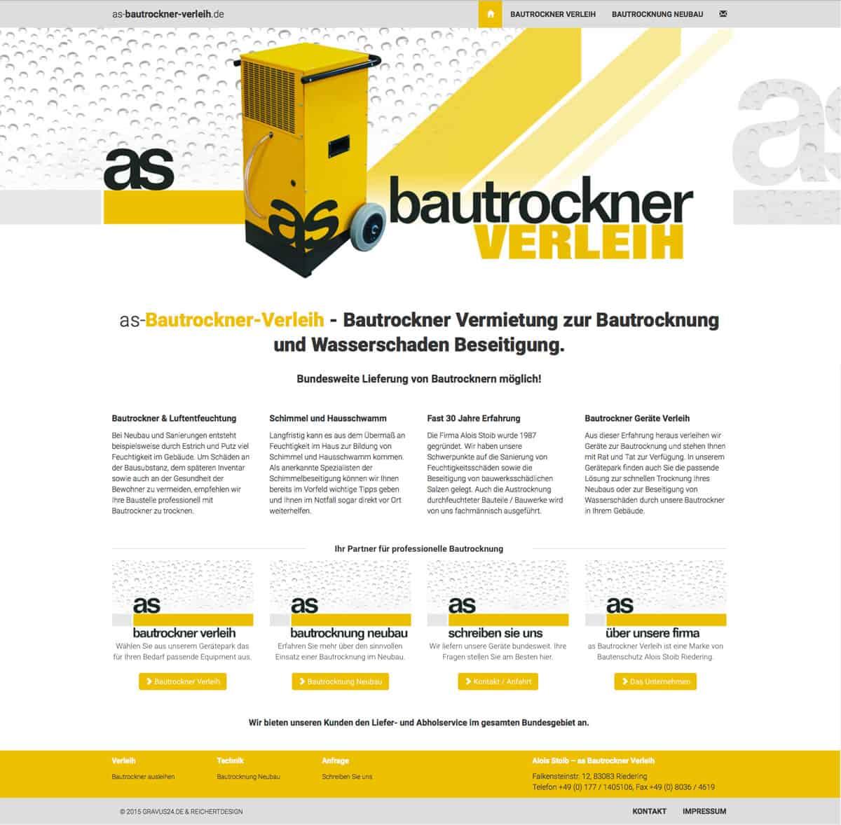 bautrockner Rosenheim komplett