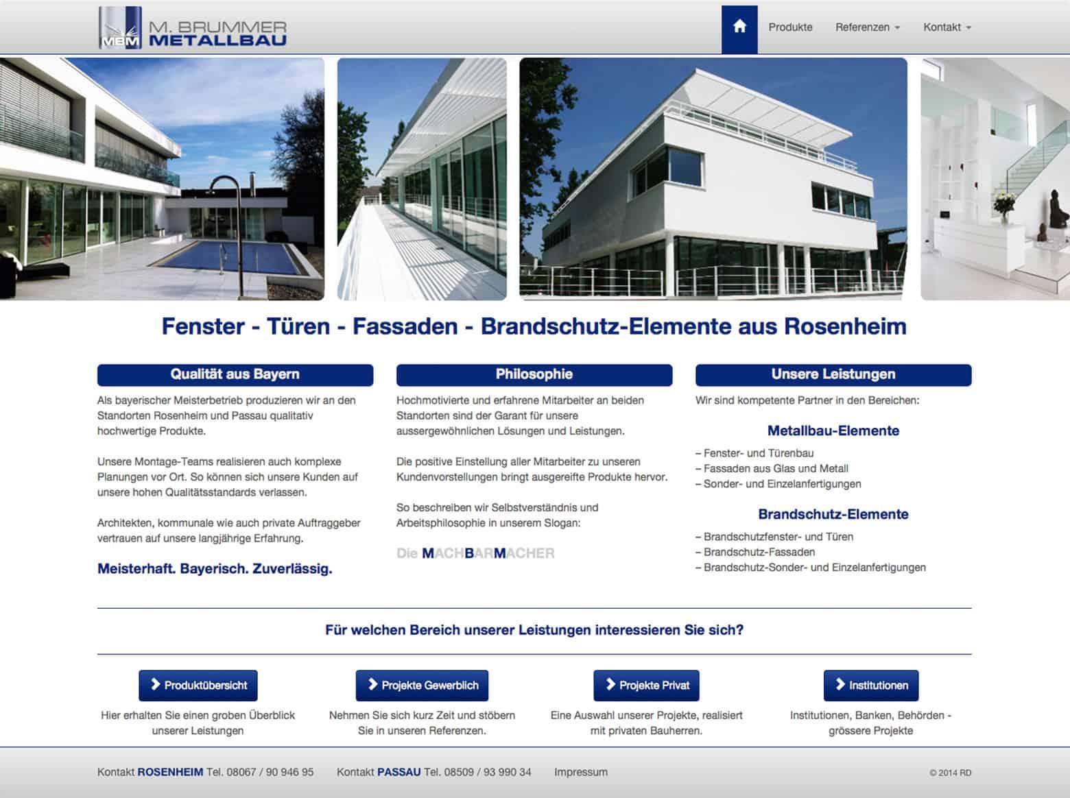 mbm rosenheim website