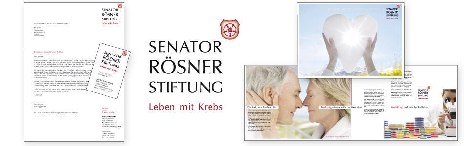 Beispiel Corporate Design Rosenheim Stiftung
