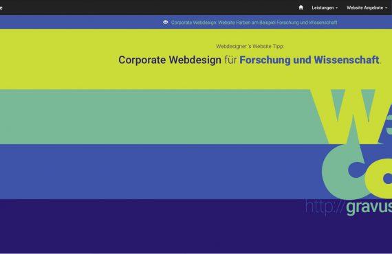 webdesigner farbtipp forschung