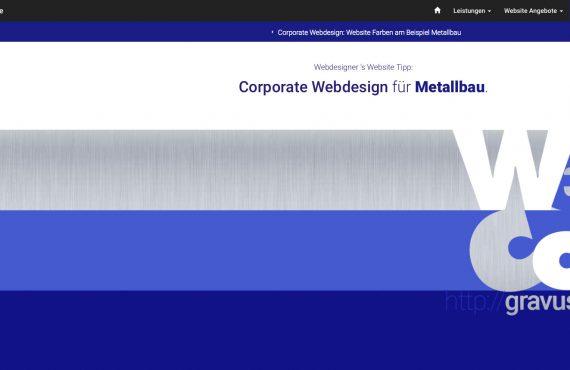 webdesigner farbtipp metallbau