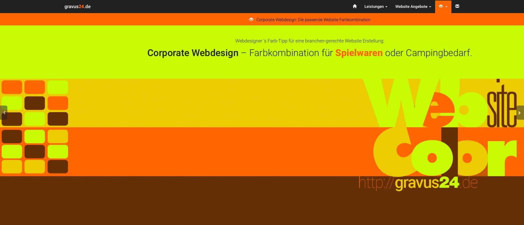 webdesigner farbtipp spielwaren