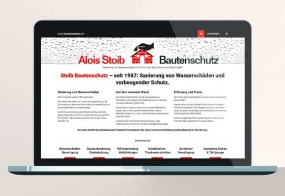 Responsive Website Bautenschutz