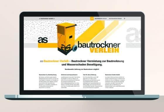 Responsive Website Bautrockner