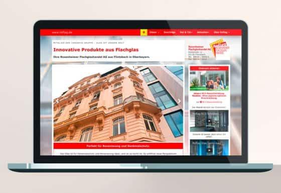 Webdesign Roflag Rosenheim