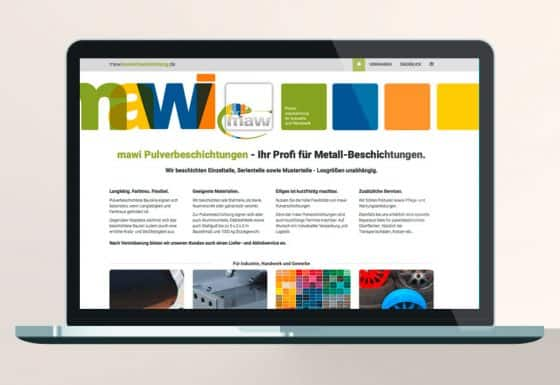 Corporate Webdesign Beispiel