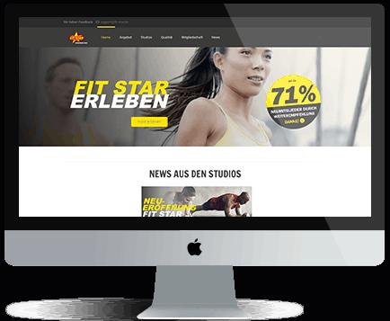webdesign München fist
