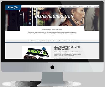 webdesign München fitfir