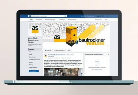 Webdesign Facebook Website