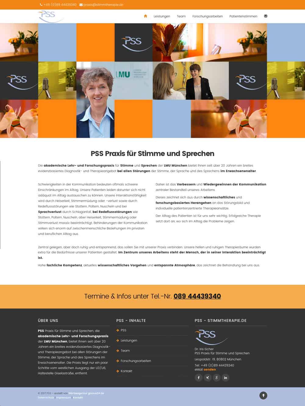 München Werbeagentur Web Design PSS