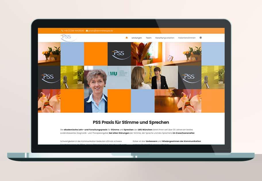 München Arzt Praxis Website PSS