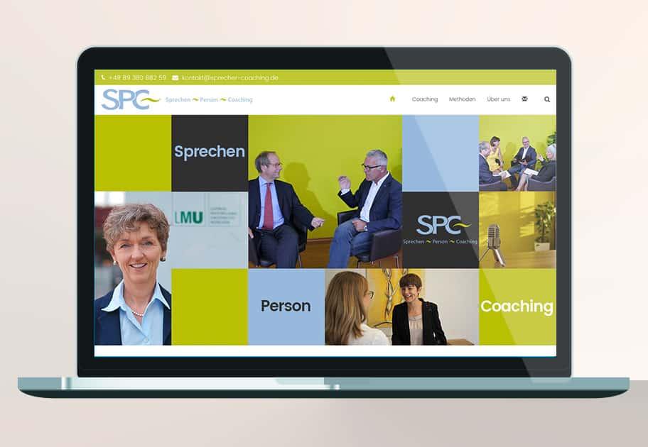 WordPress Website SPC München