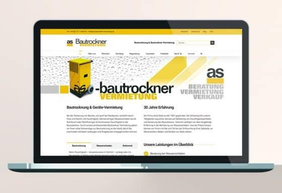 SEO WordPress Webdesign as
