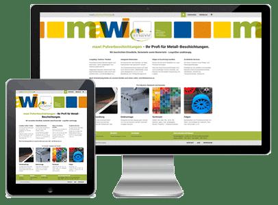 corporate webdesign coating